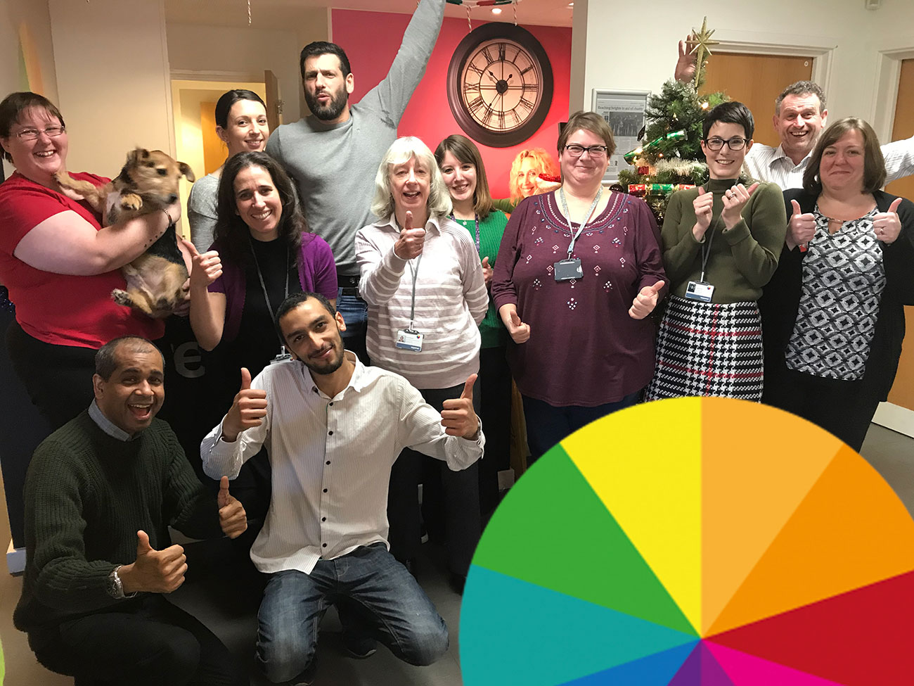 Team Response celebrate a third year as Investors in People Gold Award recipients